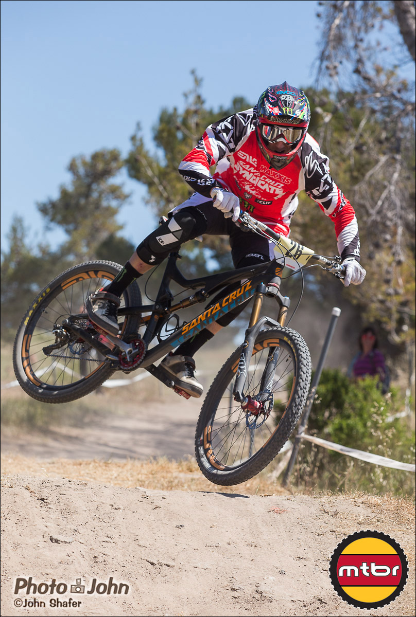 Peaty On The Santa Cruz Bronson 650B - 2013 Sea Otter Classic Pro Downhill Finals