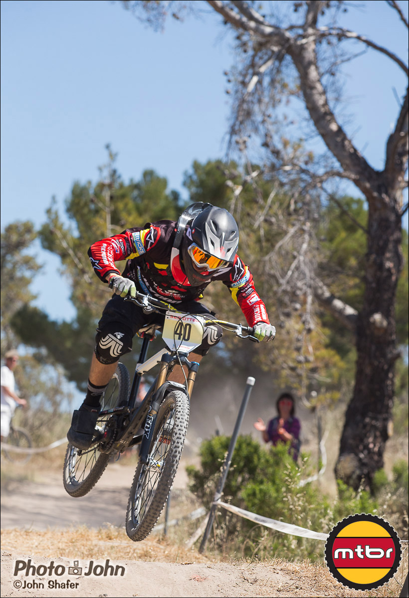 Fabien Cousiniie - 2013 Sea Otter Classic Pro Downhill