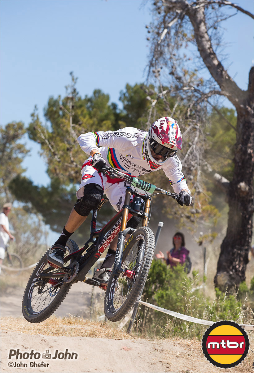 Greg Minnaar - 2013 Sea Otter Classic Pro Downhill