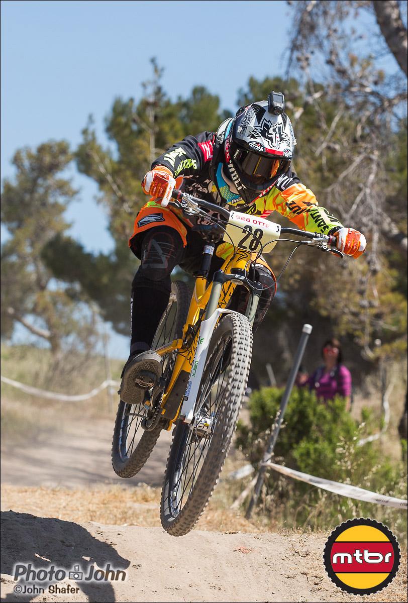 Cedric Gracia - 2013 Sea Otter Classic Pro Downhill