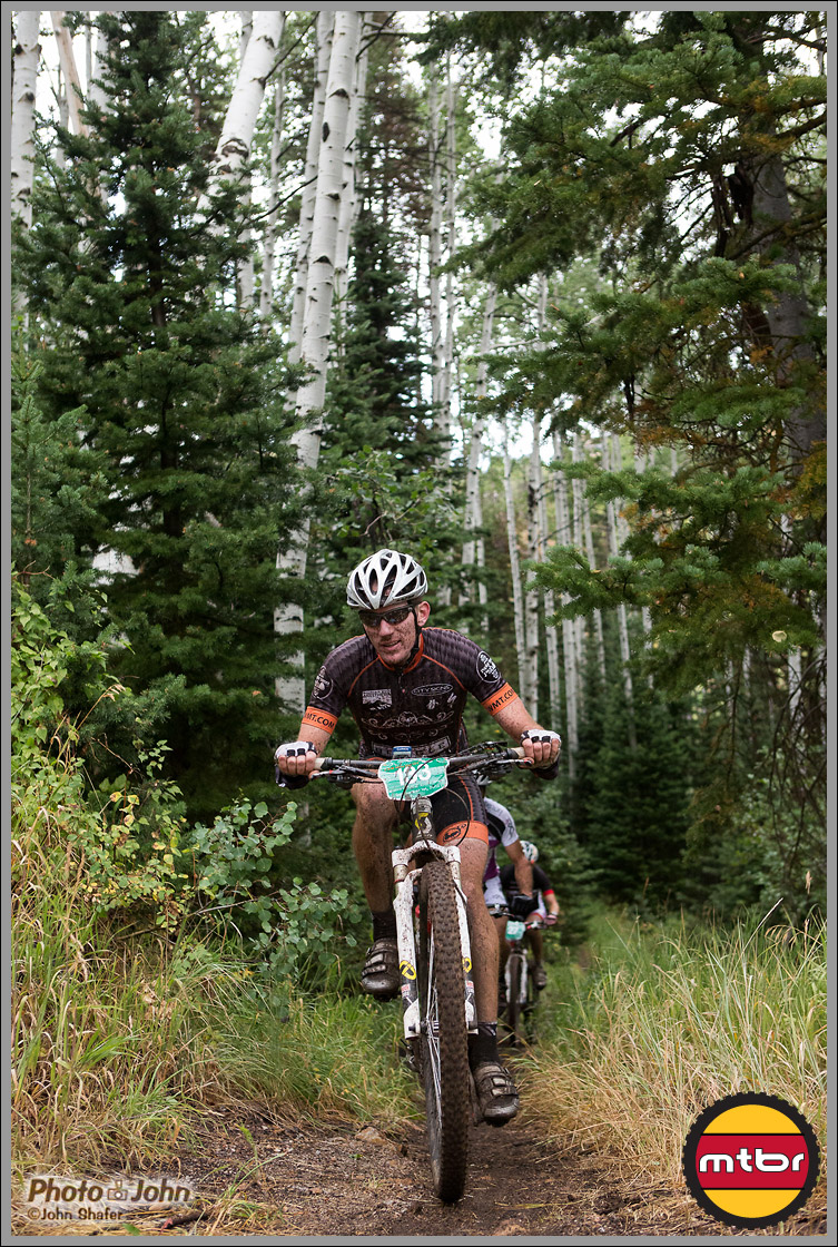 Bill Gowski Enjoys Some Deer Valley Singletrack - 2012 PCP2P