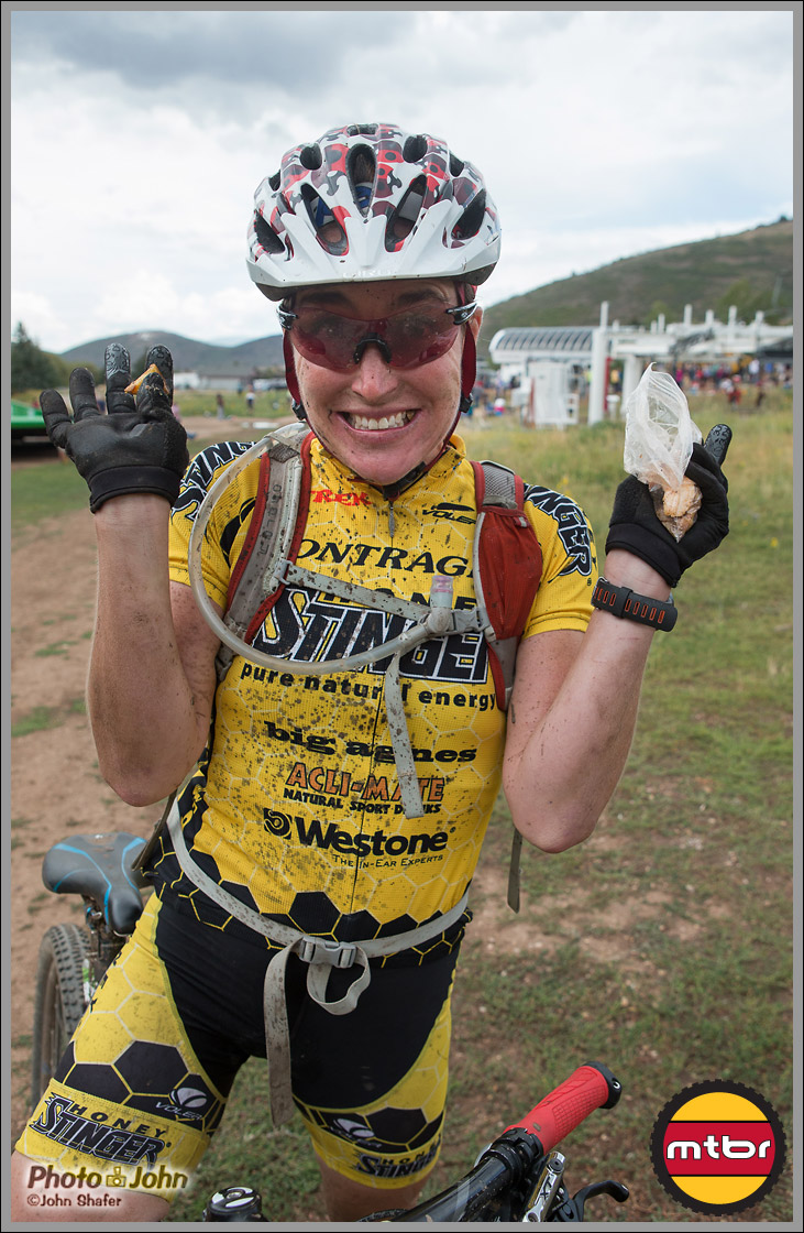 Jaime Brede Loves Park City Singletrack - Park City Point To Point