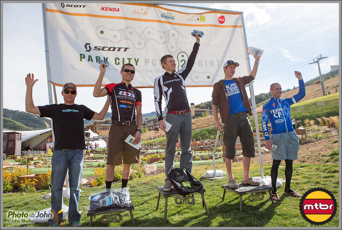 Park City Point To Point - Men's Podium