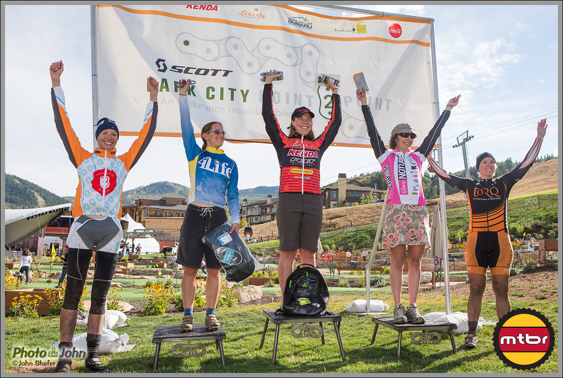 Park City Point To Point - Open Women's Podium