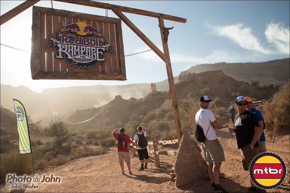 Bottom Of The 2012 Red Bull Rampage Course