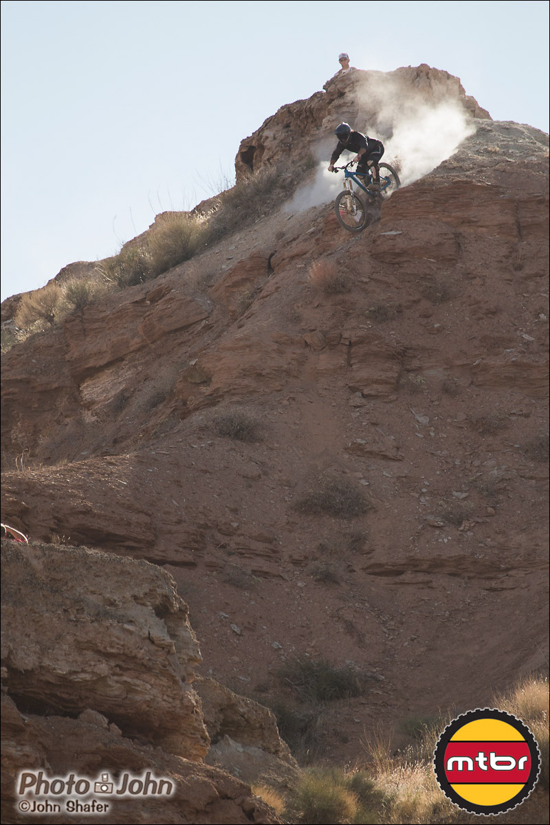 Casey Groves - Upper Steeps - 2012 Red Bull Rampage Qualifying