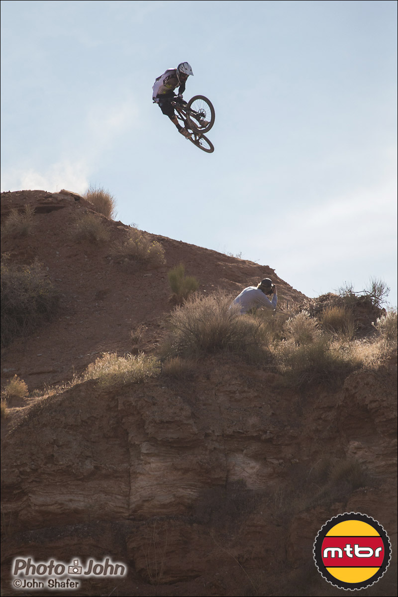 Brett Rheeder Whip - 2012 Red Bull Rampage Qualifying