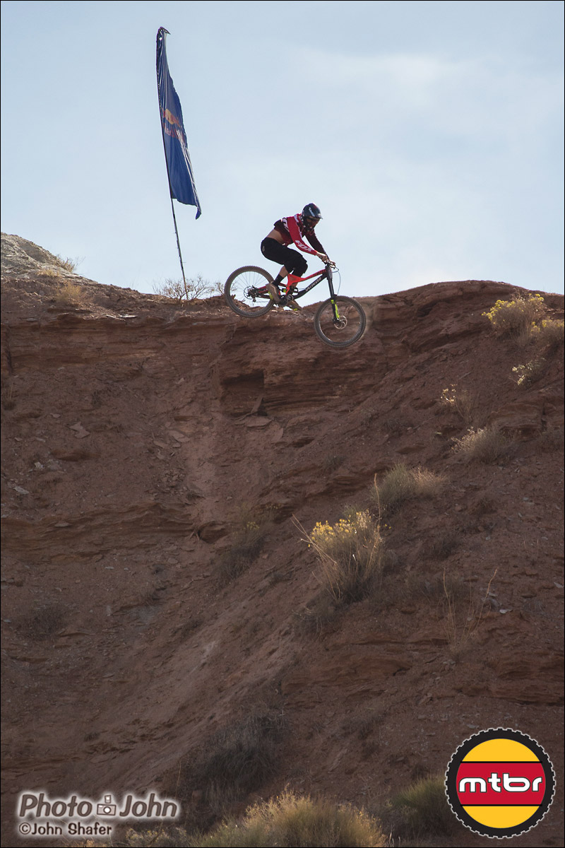 Kyle Norbraten - 360 Drop - 2012 Red Bull Rampage Qualifying