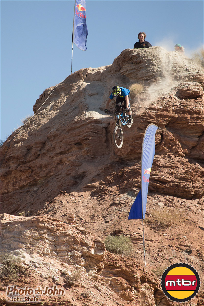 Pierre Eduard Ferry - Steep Drop – 2012 Red Bul Rampage Qualifying