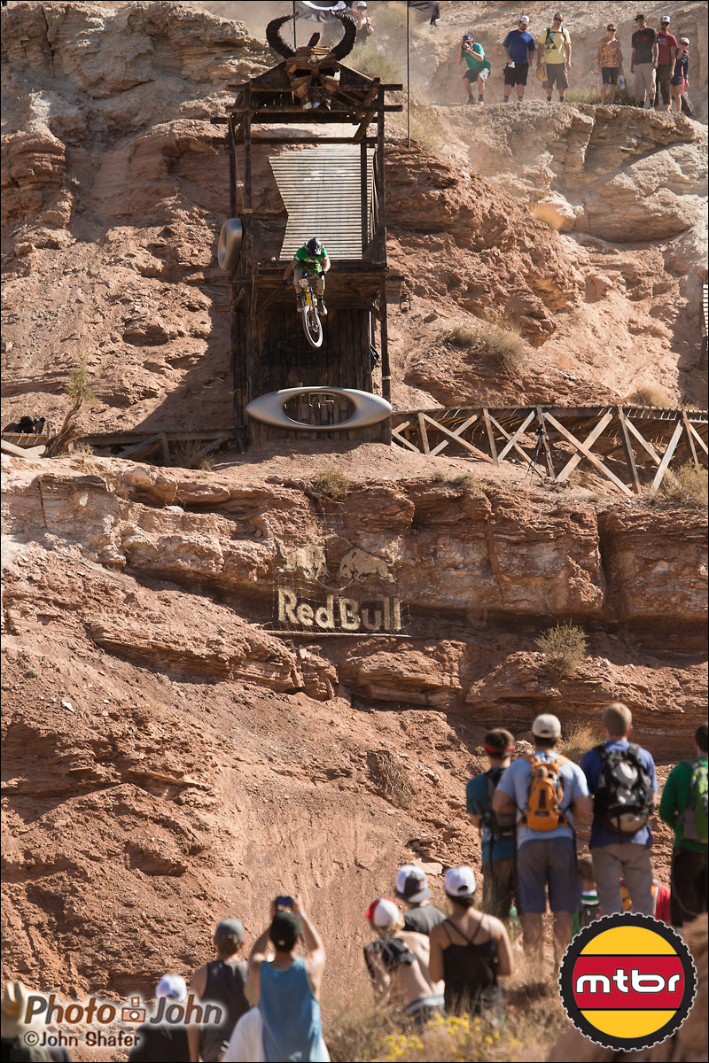 Mike Kinrade - Oakley Sender - 2012 Red Bull Rampage Qualifying