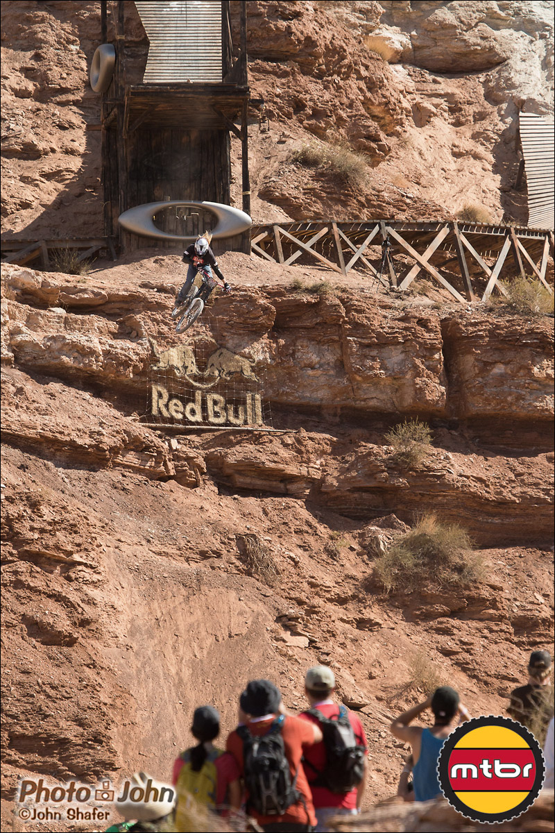 Wil White - Oakley Sender - 2012 Red Bull Rampage Qualifying