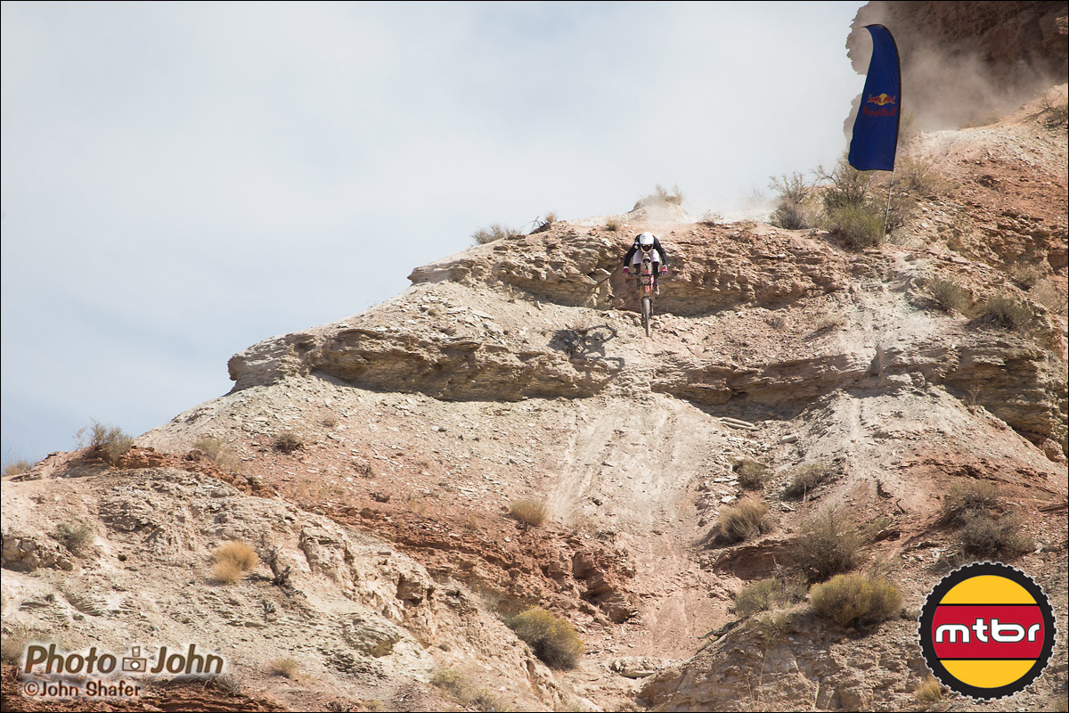 Nick Simcik Near The Top - 2012 Red Bull Rampage Qualifying