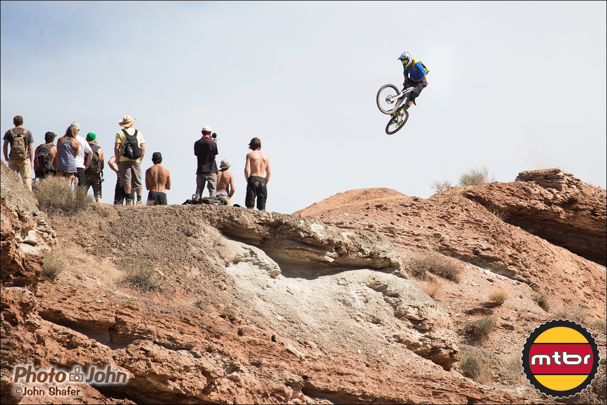 Mike Hopkins Going Huge - 2012 Red Bull Rampage Qualifying