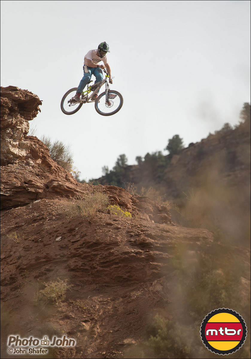 Sam Pilgrim - 2012 Red Bull Rampage Qualifying