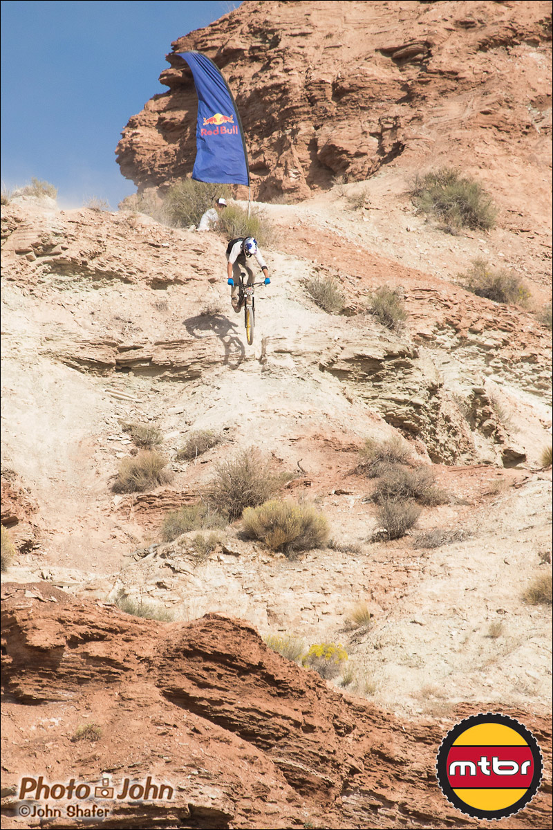 Soderstrom At The Top - 2012 Red Bull Rampage Qualifying