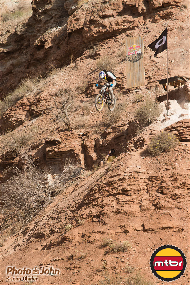 Martin Soderstrom - Big Ramp Drop - 2012 Red Bull Rampage Qualifying