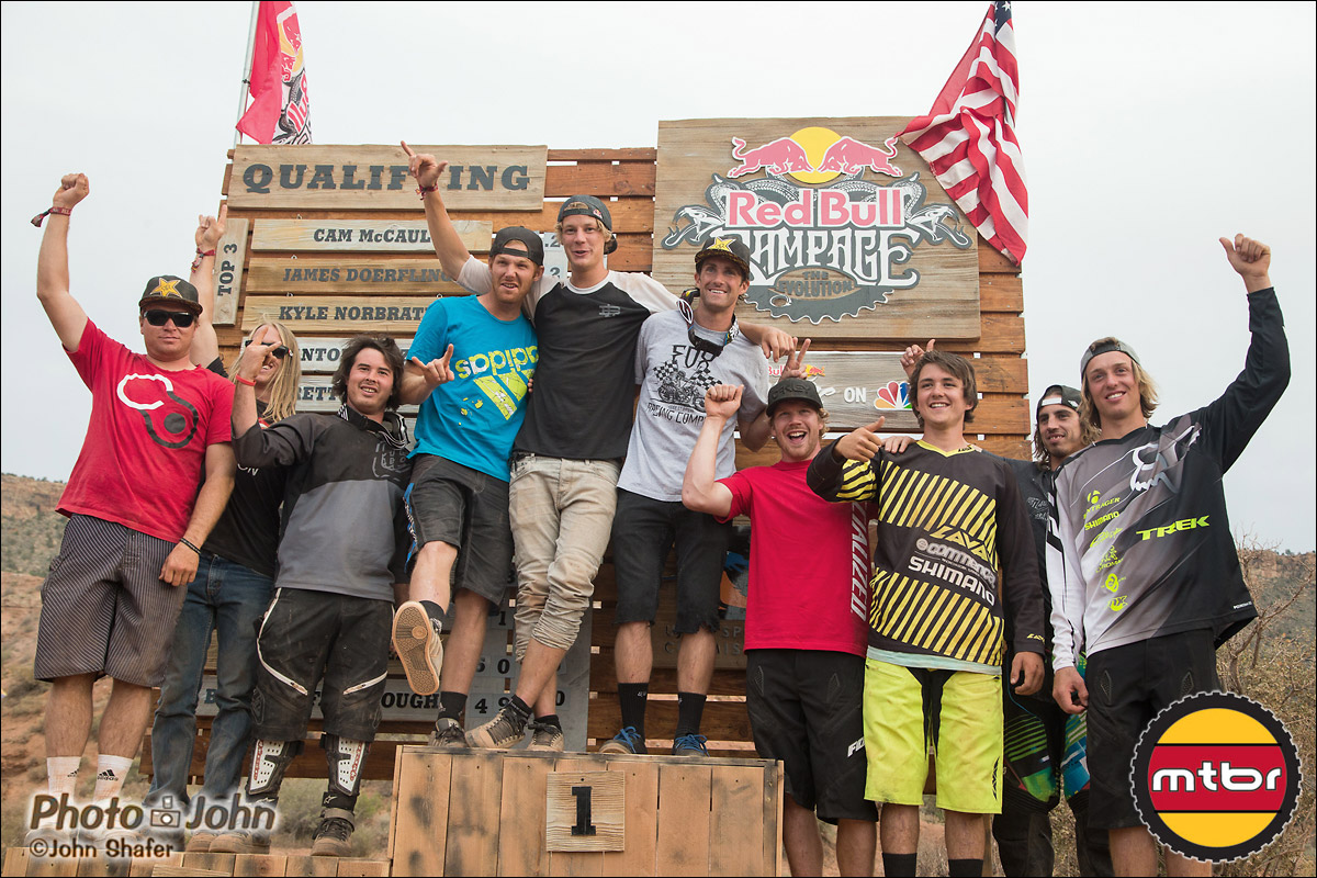 2012 Red Bull Rampage Qualifiers