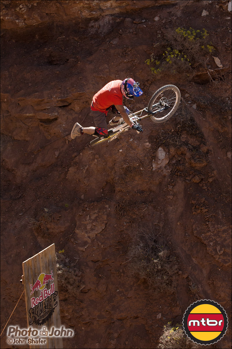 Darren Berrecloth Ramp Jump at Red Bull Rampage