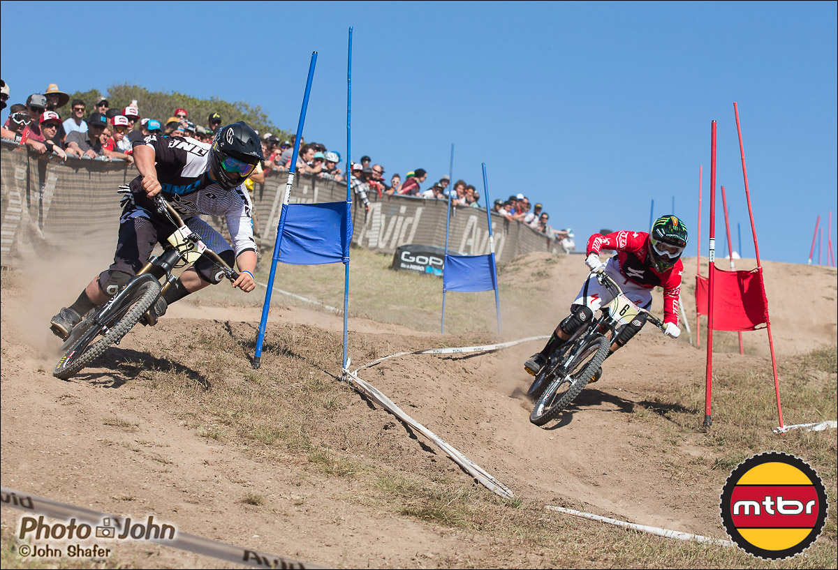 Richie Rude & Troy Brosnan - 2013 Sea Otter Classic Dual Slalom Finals