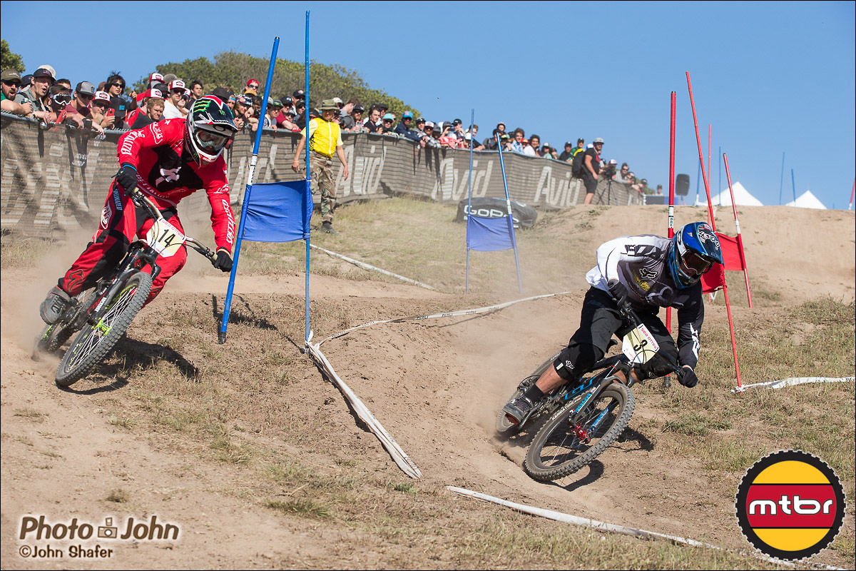 Mitch Ropelato & Kyle Strait - 2013 Sea Otter Classic Dual Slalom Finals