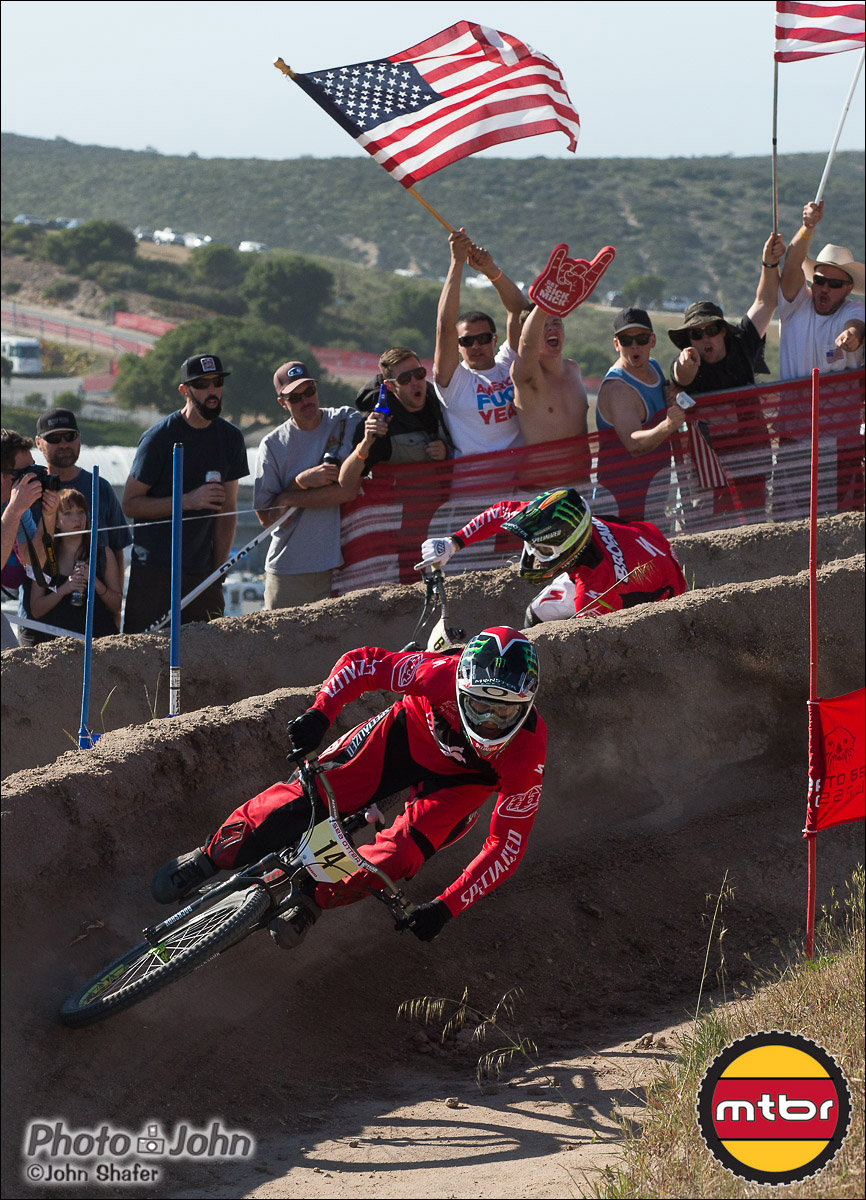 Mitch Ropelato & Troy Brosnan - 2013 Sea Otter Classic Dual Slalom Finals