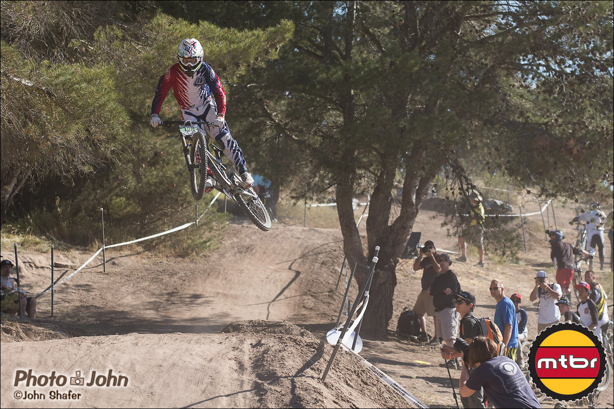Bobby Langin Jr. - Pre-Race Whipoff - 2013 Sea Otter Classic Pro Downhill
