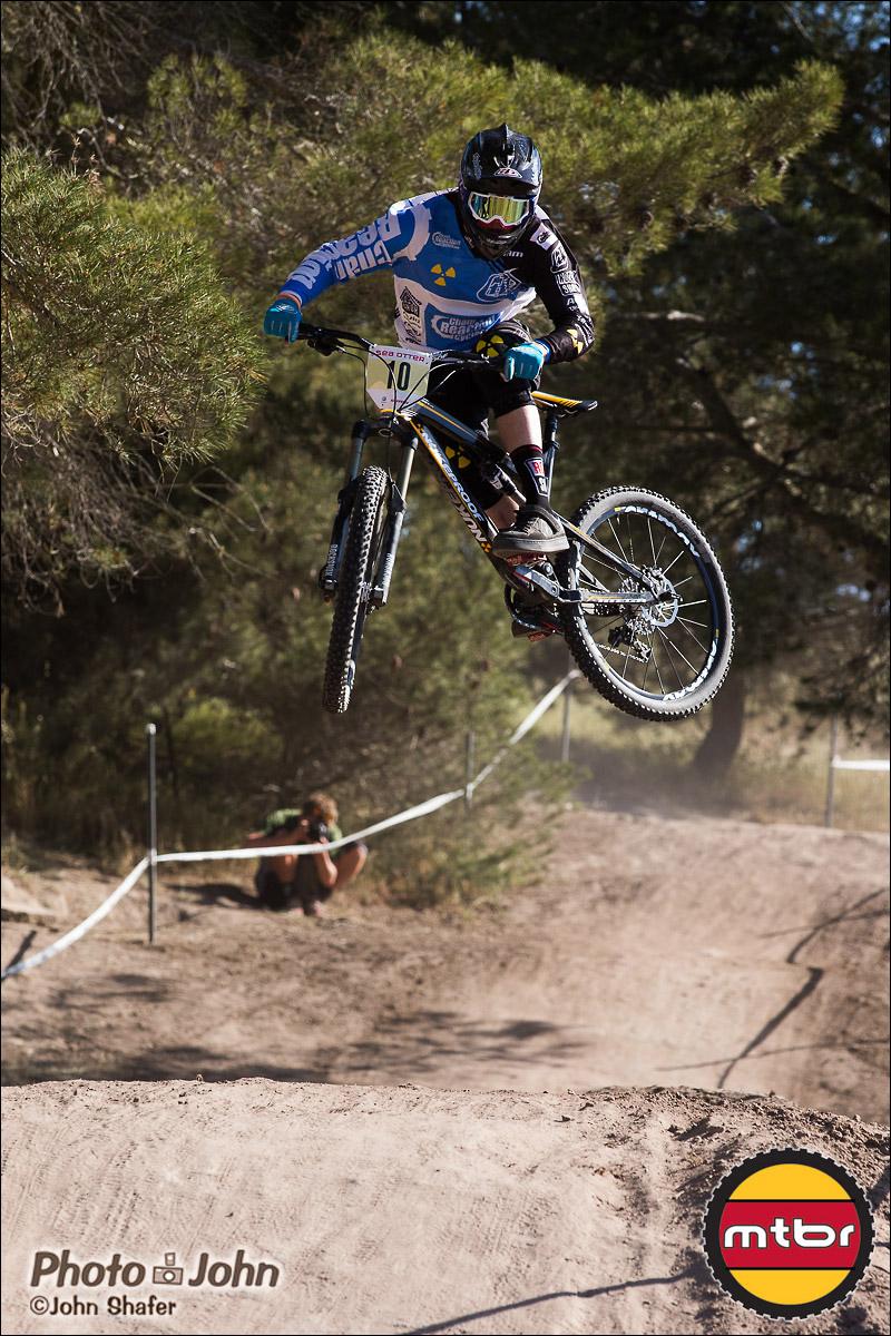 Matt Simmonds - Pre-Race Whipoff - 2013 Sea Otter Pro Downhill