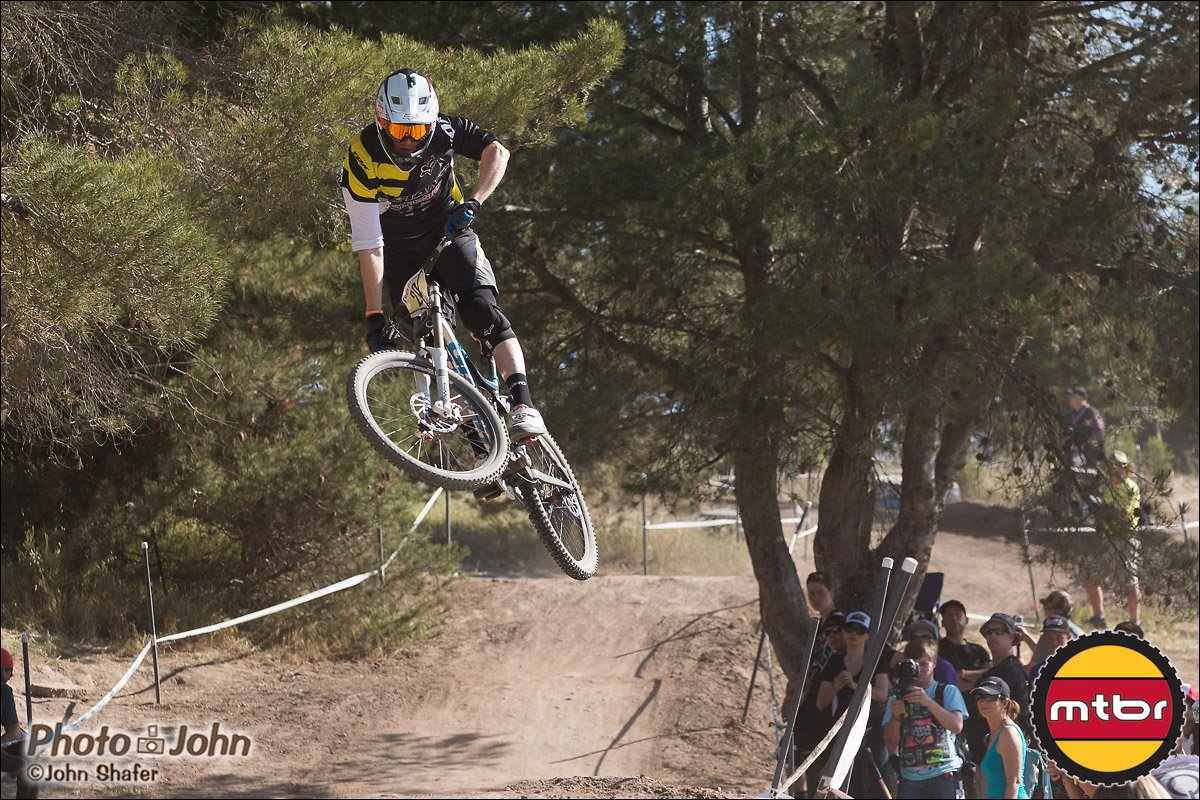 Josh Carlson - Pre-Race Whipoff - 2013 Sea Otter Pro Downhill