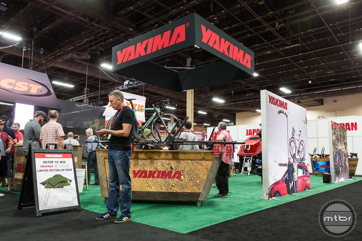 Yakima Interbike 2017 Booth