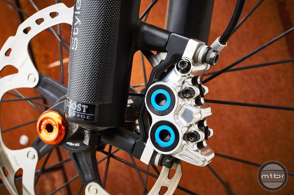 Art's Cyclery Bike Check: Mark's Yeti SB5