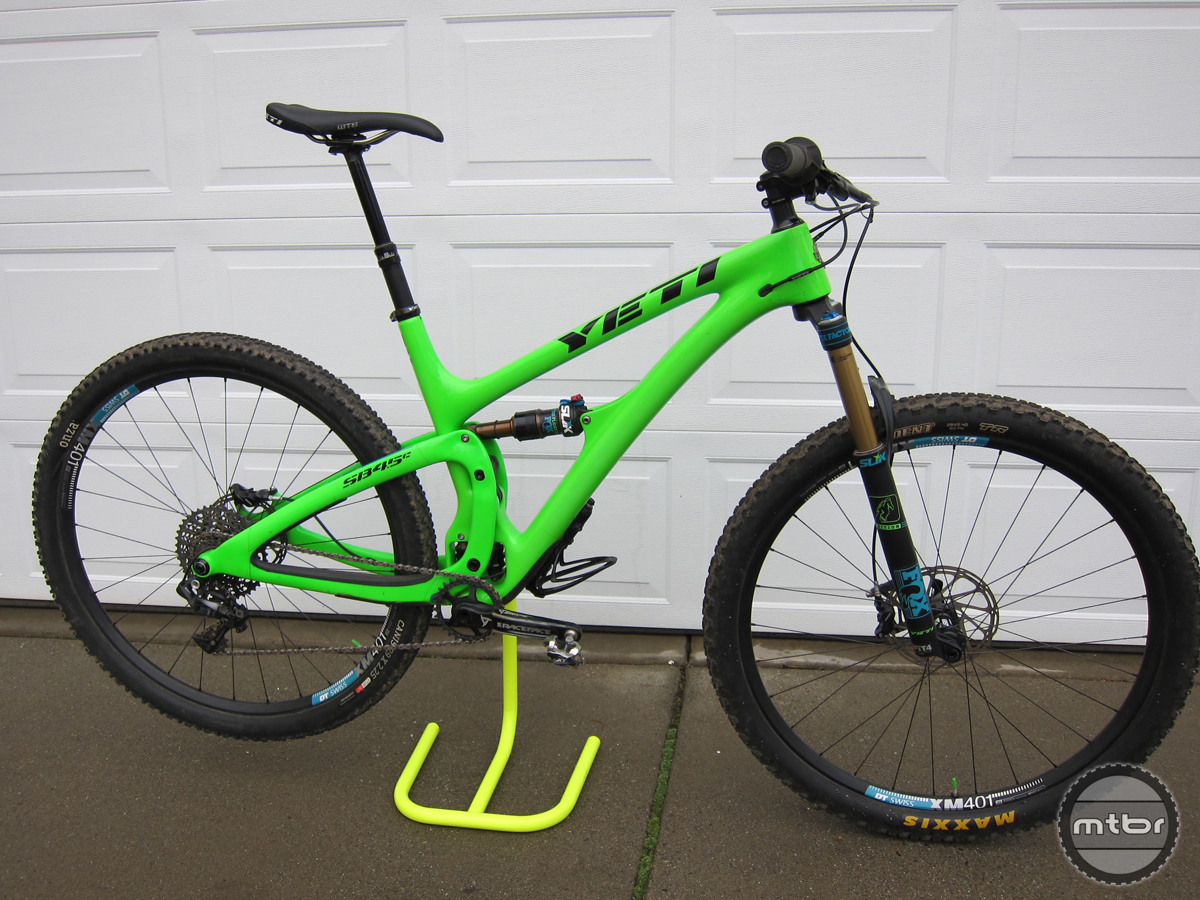 5. Yeti SB4.5 Bike Review