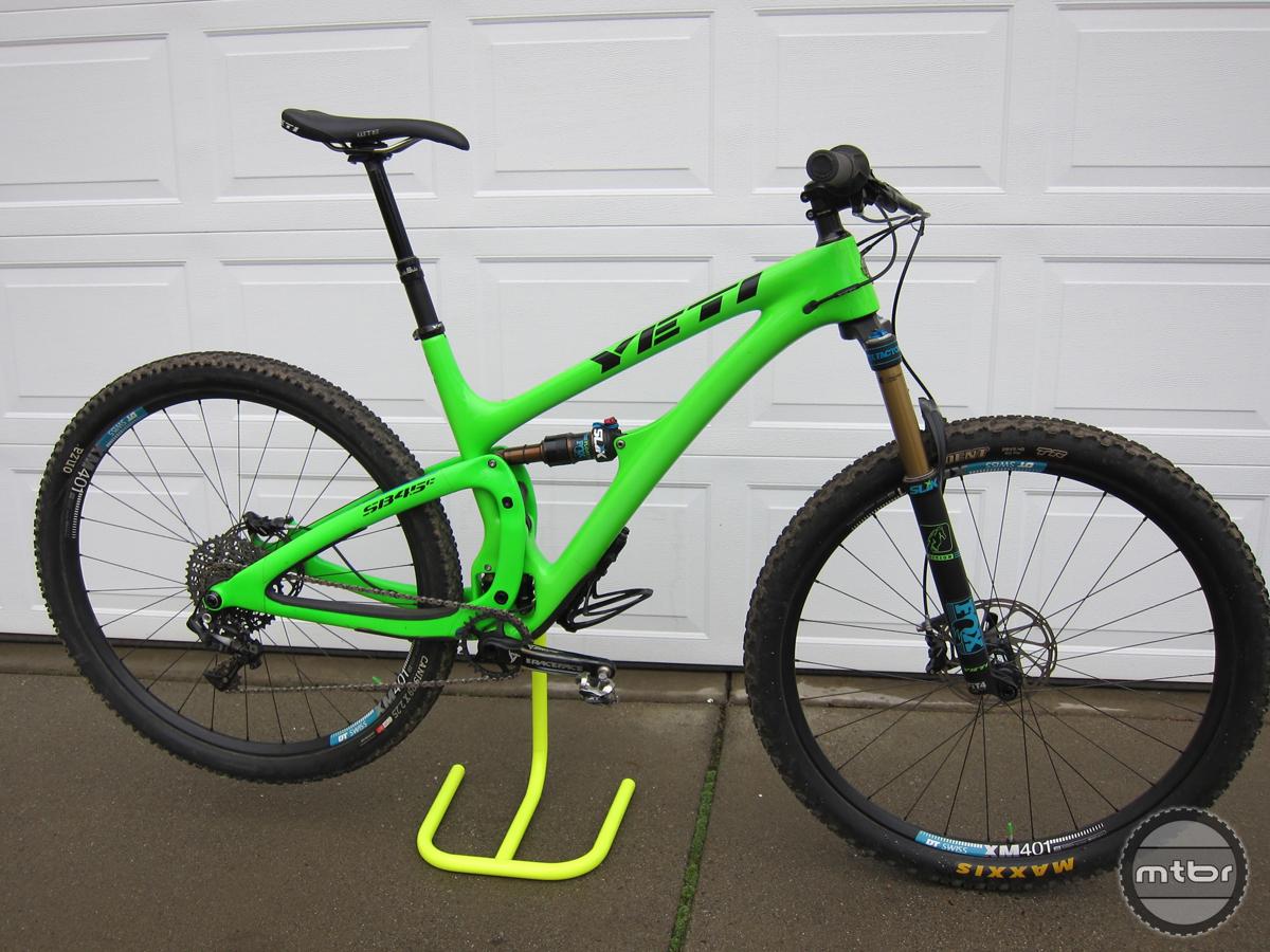 5. Yeti SB4.5 Bike Review