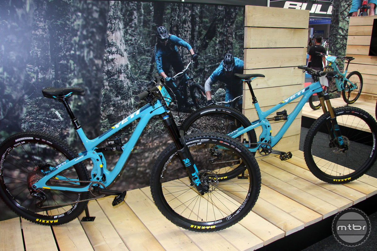 On average, the Turq series bikes will be about 250-300 grams lighter than their Carbon cousins.