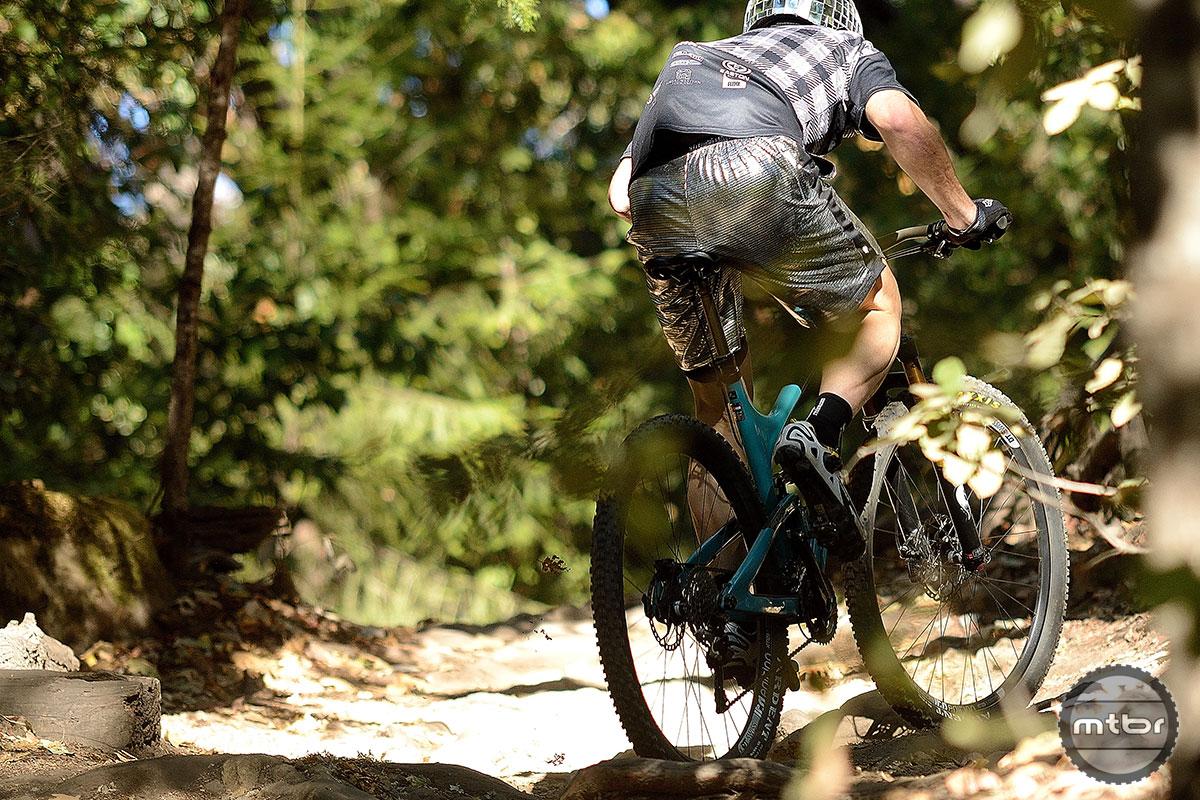 Yeti SB95C Climb