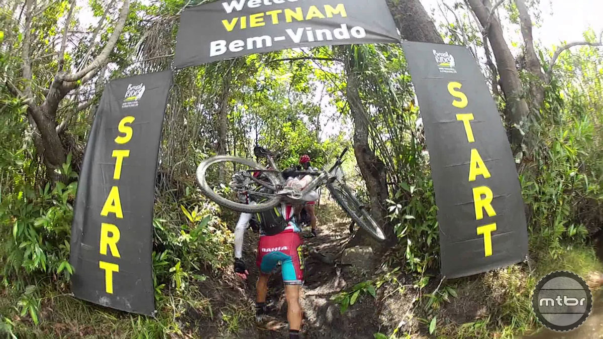 """The """"Vietnam"""" section coined its nickname due to extreme mud and carnage.  This year, the mud was traded for relentless heat and steep ascents."""
