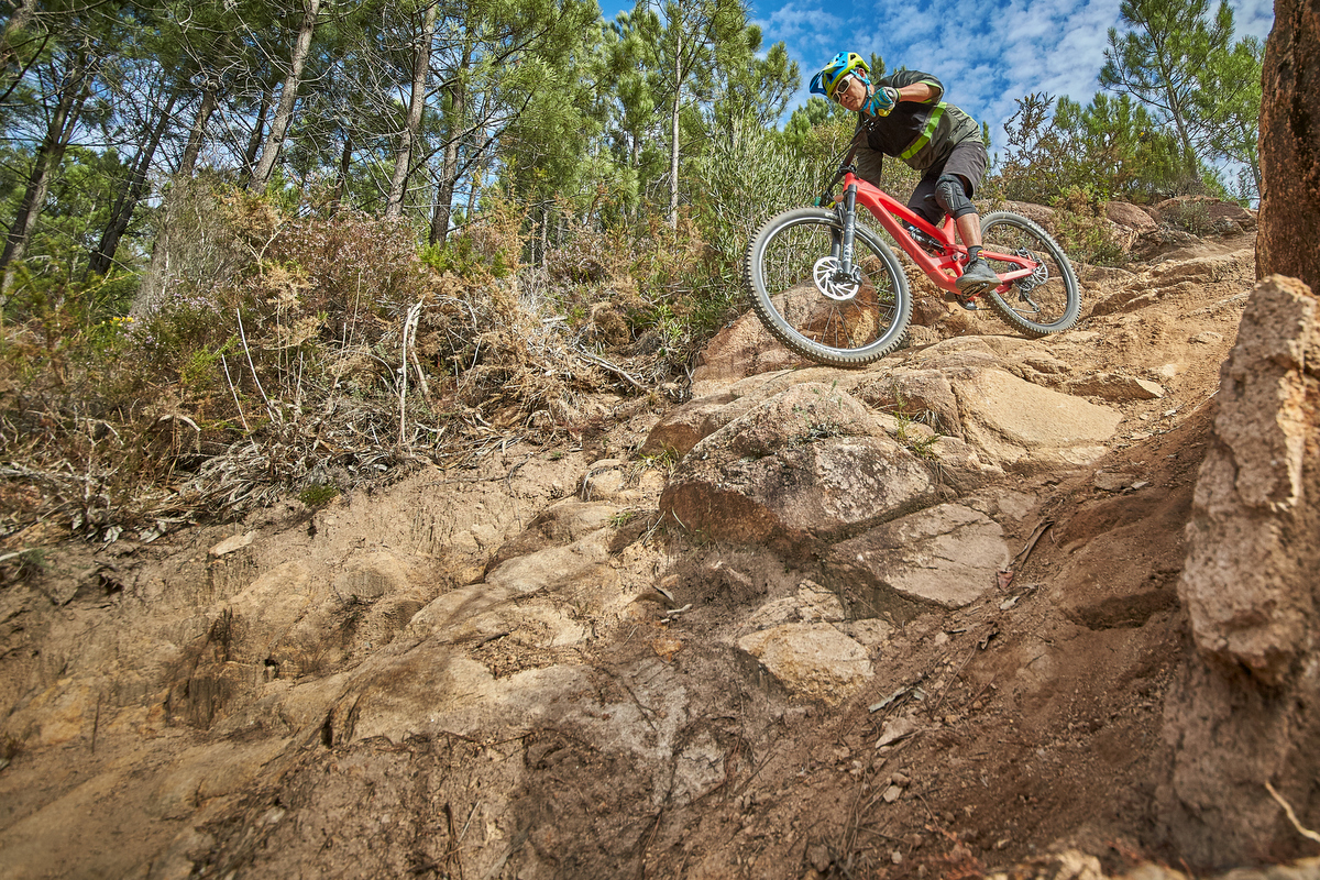 The bike allows one to explore the edges of ones comfort zone.