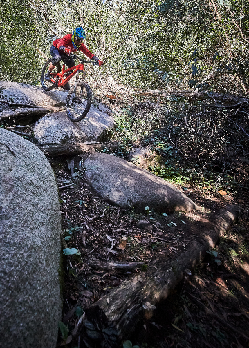 Honestly, these trails did not feel that steep on the Capra
