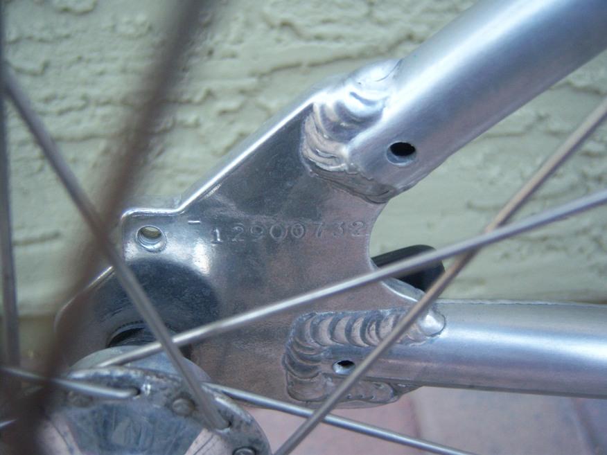 gt road bike serial number