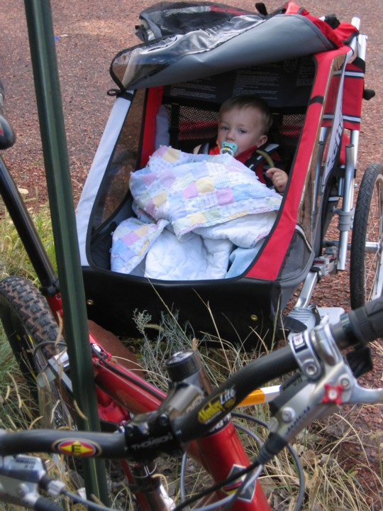 OT BOB Trailer Child Car Seat Mtbr