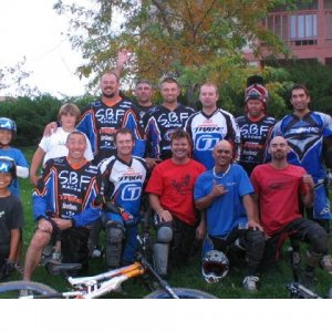 Group photo of SBF/Mongoose Tribe @ Woodward