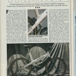 Trimble Review - Bicycle Guide Aug 88