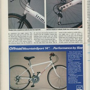 Trimble Review Bicycle Guide Aug 88