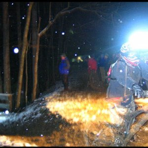 Icycle Night Downhill