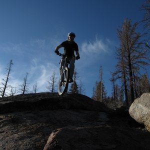 Riding Taos/I don't need no stinking gears