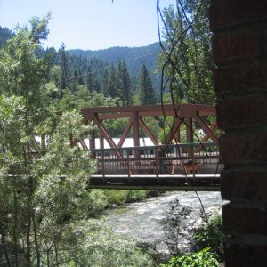 Downieville Bridge