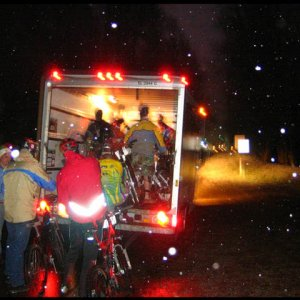 Icycle Night Downhill Shuttle