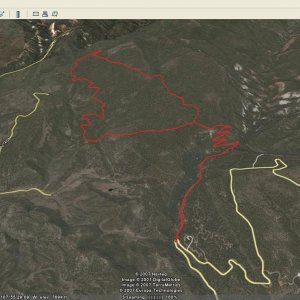 Garmin Edge 305 + Google Earth = Colorado Trail Map