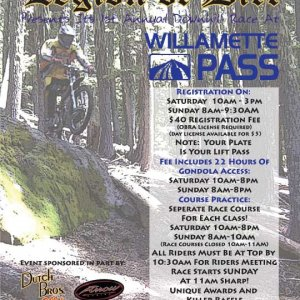 Willamette Pass Race 8/27/06