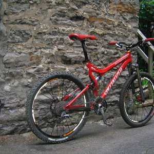 Specialized Stumpjumper FSR Expert 2004 custom