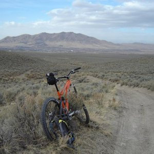 Monkeying around in Toulon, Nevada-ride pics